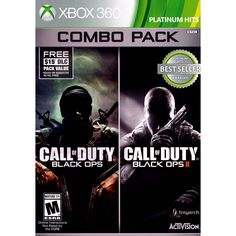 Call of Duty Ops 1 & 2 Bundle with First Strike Map Pack-For Xbox One