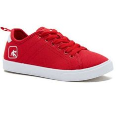 And 1 Boys Canvas Laceup Casual Shoe, Red