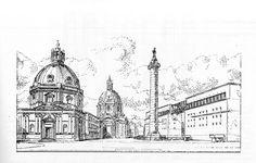 1985. Museo al Foro di Traiano, Roma