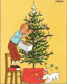 kuifje kerst