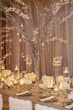 Elegant Durham Wedding at The Cotton Room from Almond Leaf Studios – wedding centerpieces Mod Wedding, Elegant Wedding, Fall Wedding, Dream Wedding, Wedding Table Ideas Elegant, Wedding Ceremony, Wedding Verses, Elegant Table, Wedding Receptions
