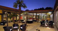 Il nostro patio di notte... www.hotelrelaisbellaria.com