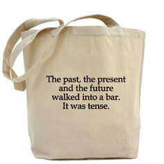 amazing. I know someone who needs these grammar bags!