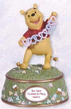 Precious Moments Winnie The Pooh Musical Pre-Order - Precious Moments Disneyana Collectable Keepsake 124107-PRE - 124107PRE, Collectable, Disneyana, Keepsake, Moments, Musical, Pooh, Precious, PreOrder, Winnie