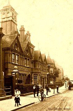 Salusbury Road. Queens Park Photo Memories, London Photos, Local History, West London, Old Buildings, Restaurant Design, Places Ive Been, Queens, Cities