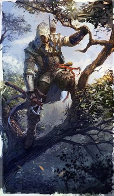 Natural Hunter - Pictures & Characters Art - Assassin's Creed III