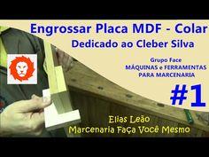 Engrossar Placa MDF #1 - Colar - Cleber Silva - Grupo Face Máq. e Ferram. - Elias Leão - YouTube