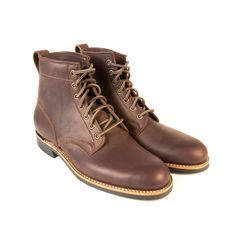 "The Dayton Service boot is based on an old Canadian Military design. Essentially made for the ""Everyman"" and designed for hard wear. Hard Wear, How To Wear, Goodyear Welt, Boot Brands, Combat Boots, Shoe Boots, Military, Mens Fashion, Heels"