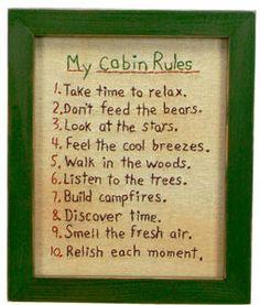 Cabin / Lodge Decor