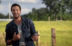 TODAY: Get a first look at Luke Bryan's 'Crash My Party'.he's so dreamy sigh Country Music Quotes, Country Music Videos, Country Music Stars, Country Strong, Country Men, Country Girls, Country Artists, Country Singers, Luke Bryan Quotes