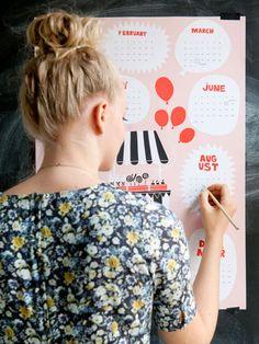 Calendar 2015, HIGHWAY DESIGN
