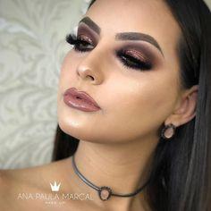 Hooded Eye Makeup – Great Make Up Ideas Glam Makeup Look, Glamorous Makeup, Sexy Makeup, Kiss Makeup, Gorgeous Makeup, Beauty Makeup, Makeup Looks, Hair Makeup, Hooded Eye Makeup