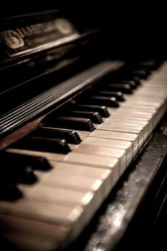 I love playing the piano