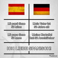 Heute aus der Rubrik Lustige Sprachen: Spanisch - Fun Bild | Webfail - Fail Bilder und Fail Videos