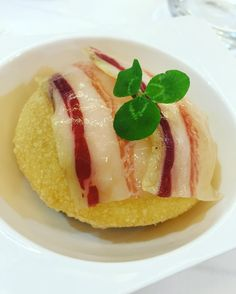 Air Bag de Patata y Panceta ibérica #gastronomia #food