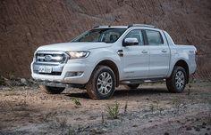 Ford Ranger Limited 2017 (Foto: Fabio Aro/Autoesporte)