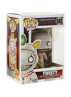 Twisty is given a fun, and funky, stylized look as an adorable collectible vinyl figure!
