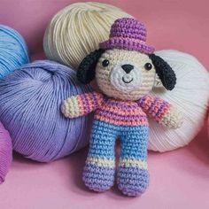 Amigurumi Charlie the Dog - free crochet pattern
