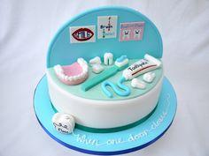 Two cakes in one! Follow Phan Dental Today!  https://www.facebook.com/phandentalyeg https://twitter.com/PhanDental