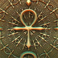 Free Image on Pixabay - Ankh, Pattern, Background, Pharaoh