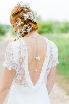 #brautfrisur Eine bunte DIY Sommerhochzeit | Hochzeitsblog The Little Wedding Corner