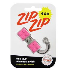 4GB Memory Brick Pink, $17, now featured on Fab.