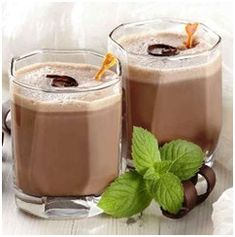 Minty Chocolate Protein Smoothie Recipe - Nutribullet Recipes. i would alter this. partially because i dont have chcolate flavored protien powder