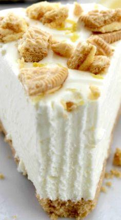 No Bake Oreo Lemon cheesecake