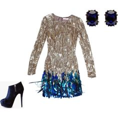 New Year's Eve Party Dress #newyears #style #dress #sparkle