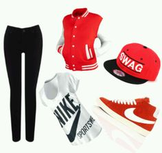 Nike outfits | Cute nike outfit | Nike Swag