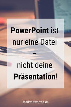 PowerPoint ist nur eine Datei - nicht deine Präsentation! Tipps, wie du PowerPoint einsetzen kannst, ohne dir die Show vom Beamer stehlen zu lassen. Simple Powerpoint Templates, Professional Powerpoint Templates, Microsoft Powerpoint, Interior Design Presentation, Portfolio Presentation, Presentation Slides, Ansoff Matrix, Keynote, Icon Set