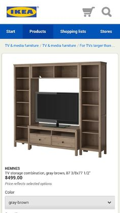 With flat panel