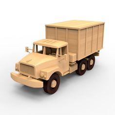 SALE 25% Wooden truck woodworking plans for DIY 04. by WoodenArmy