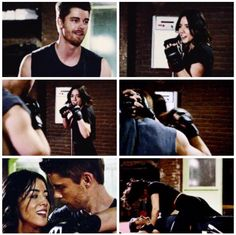 Awesome training scene between Daisy and Lincoln. This is one of my fuzzy relationship aus come to life and I was so happy. Lincoln, Marvel Productions, Series Movies, Tv Series, Shield Cast, Luke Mitchell, Fitz And Simmons, Chloe Bennet, Marvels Agents Of Shield