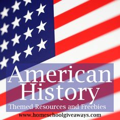 First Post in our History Series: American History Themed Resources and Freebies!