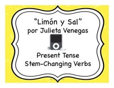 "This activity goes along with the song ""Limn y Sal"" by Julieta Venegas, which is readily available on YouTube and iTunes. In this activity, students listen to the song and complete the missing lyrics. Then, they are asked to locate certain lines of the song, copy them, and manipulate them."