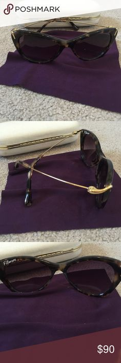 Fillmore Tortoise Shell Glasses Gold stems. Comes with Stella McCartney glass case. No scratches Fillmore Accessories Glasses