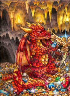... Fairies and elves ...: Imagenes de Dragones