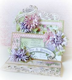 created with the Enchanted Mum Collection by Heartfelt Creations Mothers Day Cards, Happy Mothers Day, Heartfelt Creations Cards, Step Cards, Spring Crafts For Kids, Rainbow Crafts, Shaped Cards, Fathers Day Crafts, Beautiful Handmade Cards