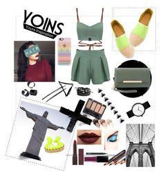 """yoins"" by pretty0329 ❤ liked on Polyvore featuring Heidi Klein, Aurélie Bidermann, Casetify, Urban Decay, Burt's Bees, LASplash, Charlotte Russe, NARS Cosmetics and Smashbox"