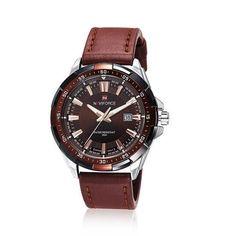 Naviforce Luxury Leather Watch