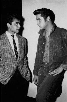 Elvis and Sal Mineo