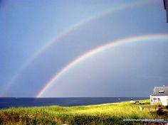 Double Rainbow, East Sandwich Beach.