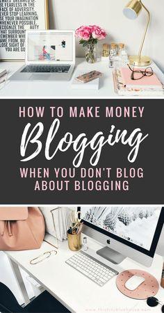 How to make money Blogging when you don't blog about blogging - proven strategies to make income and profit from your niche blog #blogging #momblog #lifestyleblog #sidehustle #lifestyle #blogger #blogtips #bloggingtips #sponsoredposts