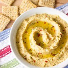 Simple Hummus Without Tahini
