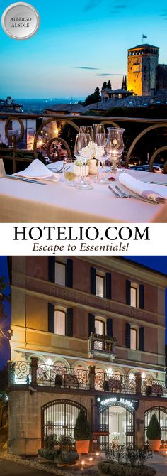 Albergo Al Sole || Venteo, Italy - Treviso || Small luxury boutique…