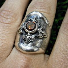 Medieval princess ring in oxidized silver www.roosjuwele.co.za