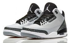Sneaker Release Dates - Jordan, Nike, adidas | Foot Locker Jordan Retro 3| Wolf Grey/ Metallic Silver/ Black/ White