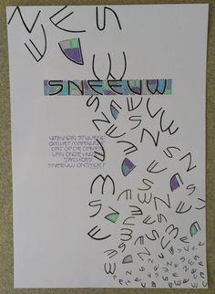 Opdracht VAK 2013. Kalligrafie en ontwerp Marjolein Copius Peereboom
