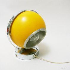 Petite applique Ball Eye jaune